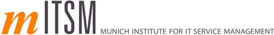Logo mITSM Munich Institute for IT Service Management